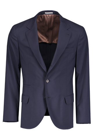 Front Image Stock Travel Blazer Navy