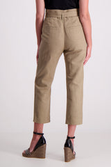 TROUSER MEDIUM BROWN