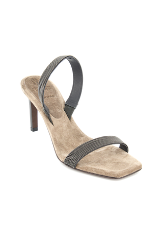 Carbone Sandal with Heel