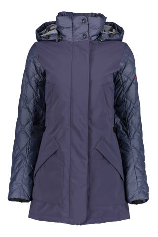 Front view image of Berkley Coat Navy