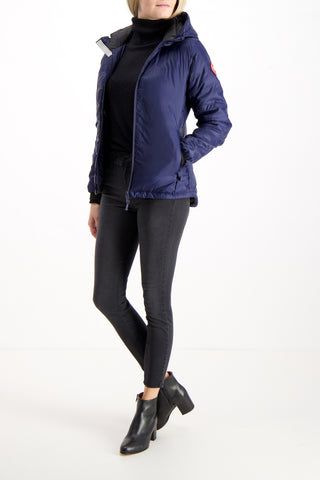 CAMP HOODY JACKET ADMIRAL BLUE