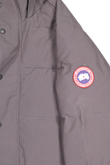 Sleeve detail image of Canada Goose Men's Emory Parka Graphite