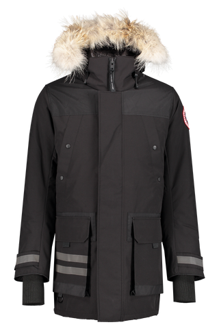 Front view image of Canada Goose Men's Erickson Parka Black