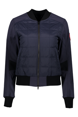 Women's Hanley Bomber Jacket In Polar Sea/Black