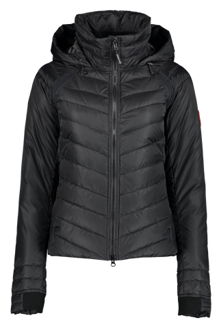 Front view image of Women's Hybridge Base Jacket Black