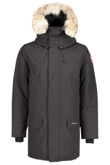 Front view image of Canada Goose Men's Langford Parka Black