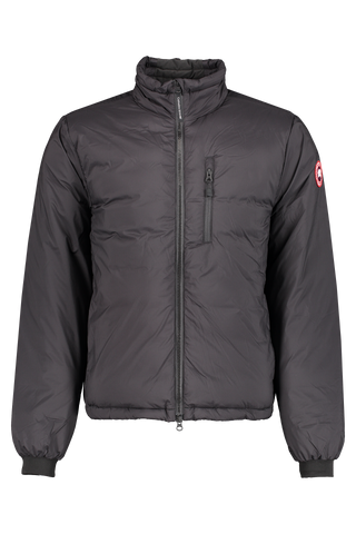 Front image of Canada Goose Men's Lodge Jacket Black