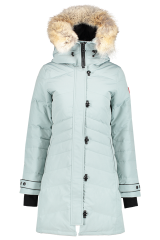 Front image of Canada Goose Women's Lorette Parka Stormy Sky