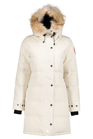 Front view image of Canada Goose Women's Shelburne Parka Early Light