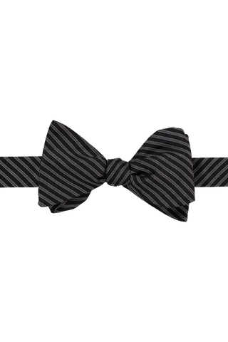Bow Tie Black Tiny Dots