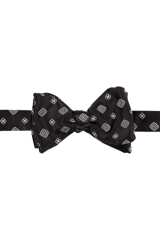 Bow Tie Black White