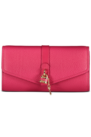 Detail view image of Chloe Aby Crossbody Bag Crimson Pink