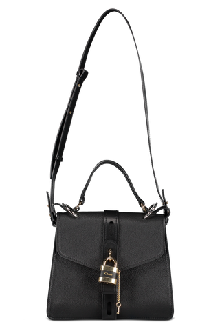 Front hanging image of Chloé Aby Handbag Black