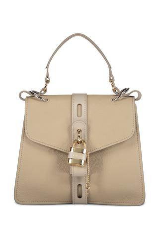 Image of Chloé Aby Handbag Motty Grey