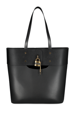 Front view image of Aby Tote Black