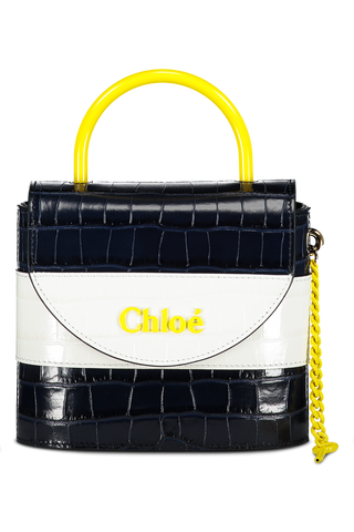 Image of Chloé Abylock Bag Full Blue