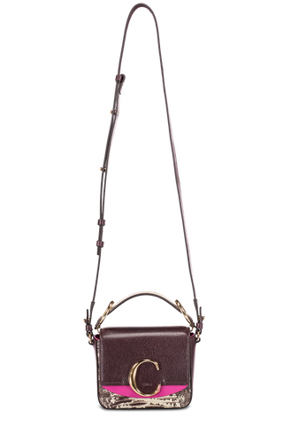 "Front Image with Strap Extended Chloe ""C"" Handbag"