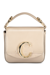 Chloé C Mini Bag Motty Grey