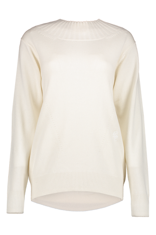 Front image of Chloé Cowl Neck Open Back Sweater