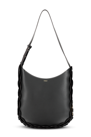 Darryl Medium Hobo Bag Black