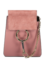 Image of Chloé Faye Bracelet Bag Rusty Pink