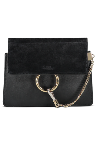 Faye Mini Shoulder Bag Black