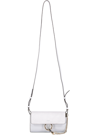 Front Image with Extended Strap Faye Wallet On Strap