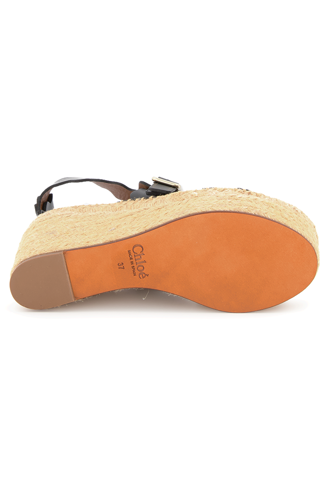 Outsole Image of Chloe Lauren Espadrille Wedge