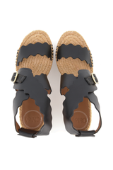 Top Image of Chloe Lauren Espadrille Wedge