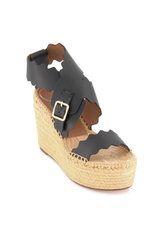Angle Image of Chloe Lauren Espadrille Wedge