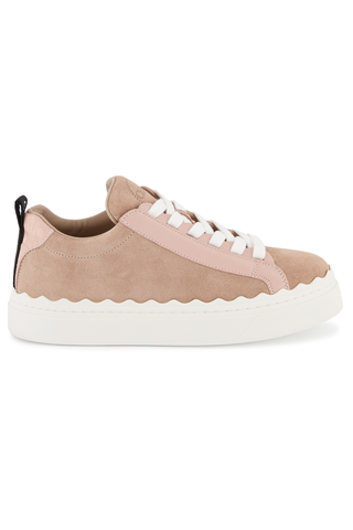 Side view image of Chloe Lauren Sneaker Delicate Pink