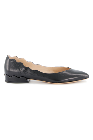 Front image of Chloé Laurena Flat Black