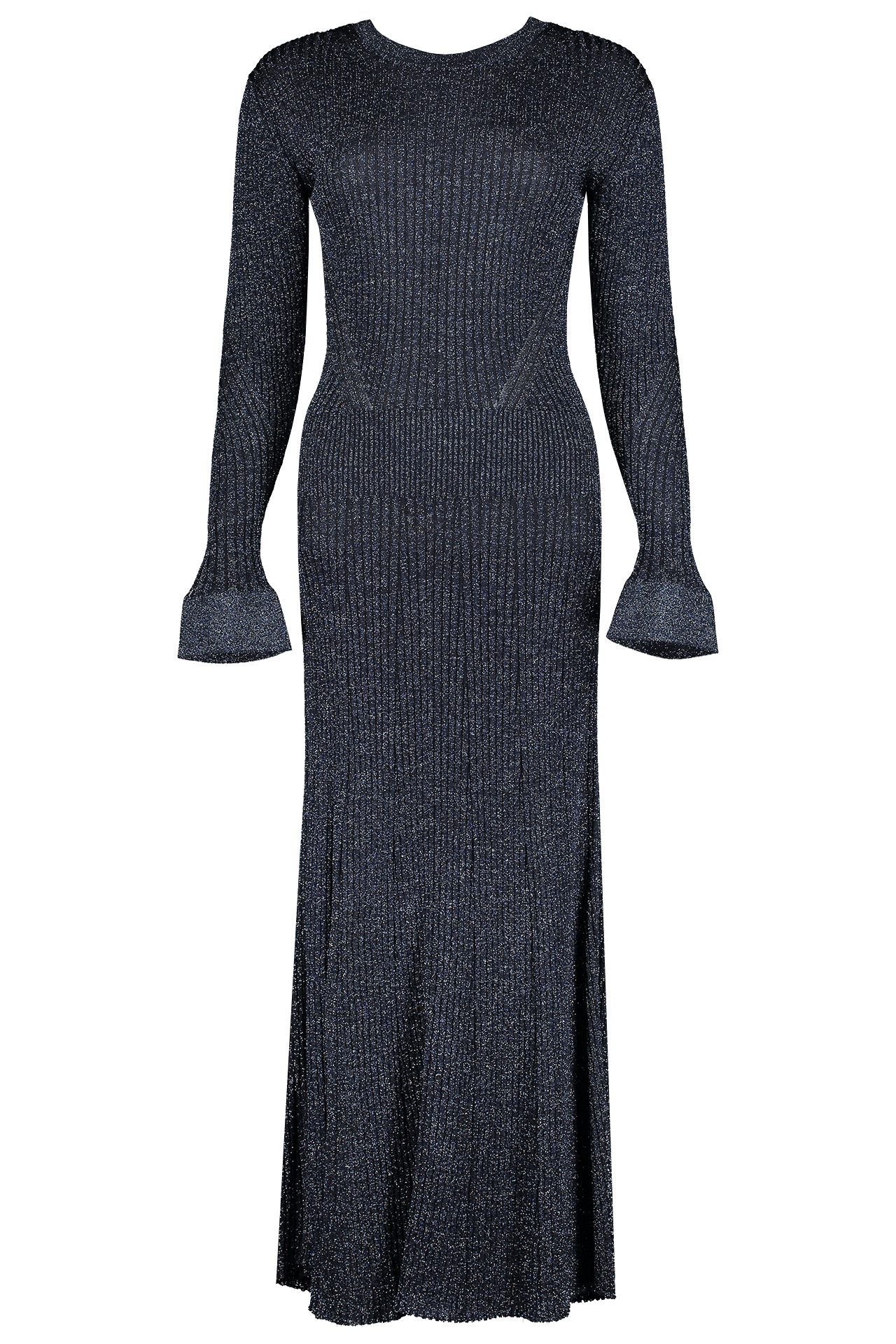 Front view image of Chloé Long Sleeve Knit Dress
