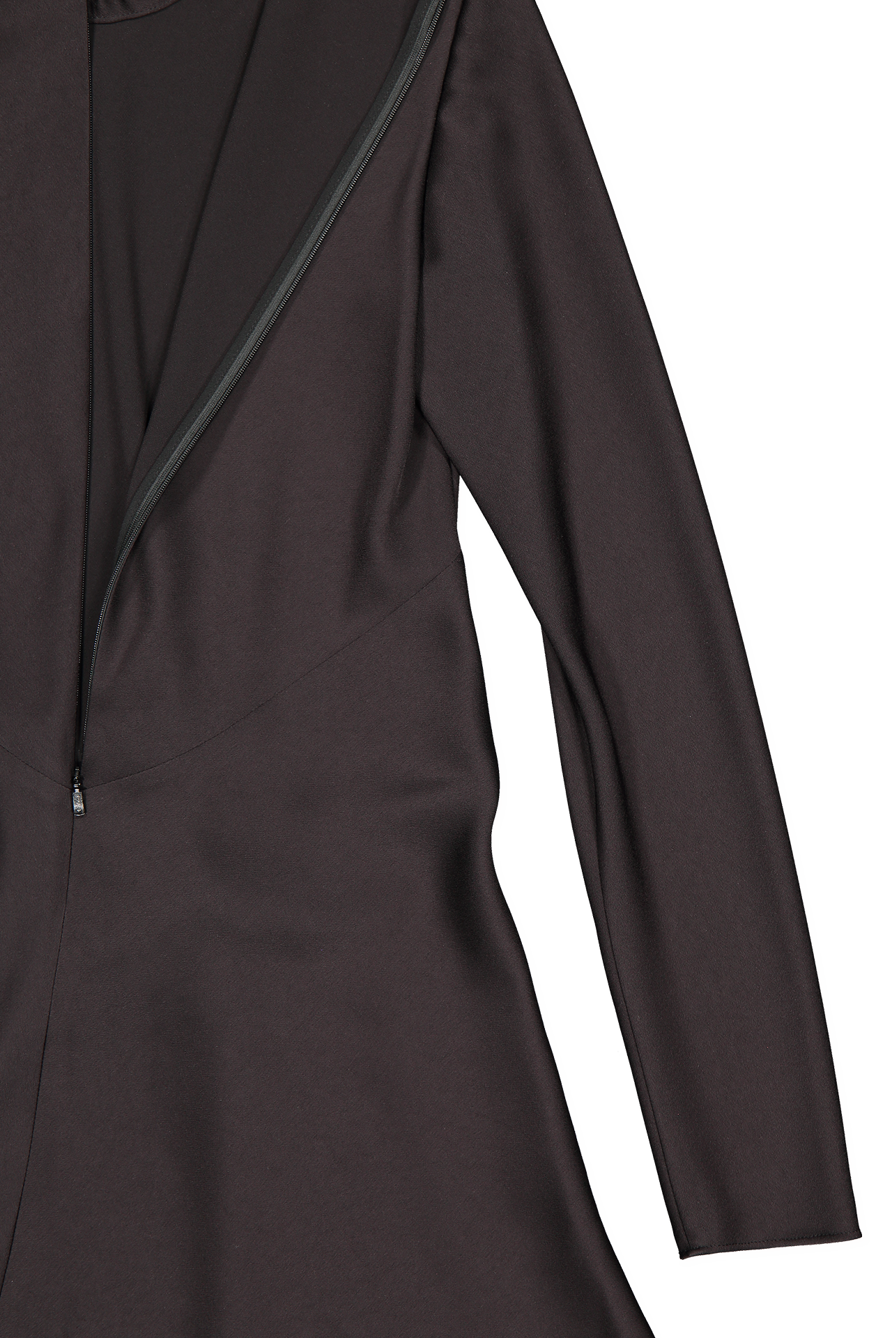 Sleeve detail image of Chloé Long Sleeve Ruched Dress