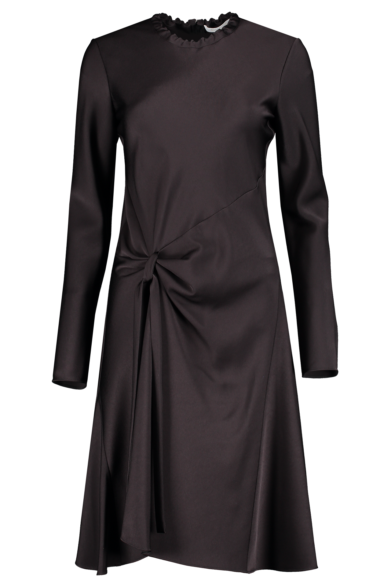 Front image of Chloé Long Sleeve Ruched Dress