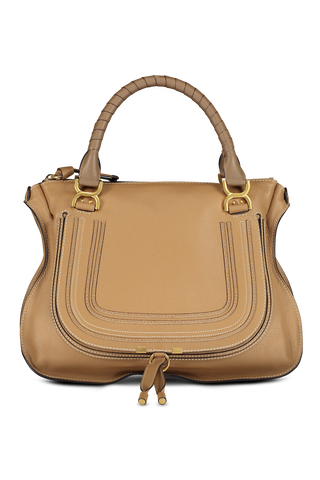 Front view image of Marcie Handbag Nut