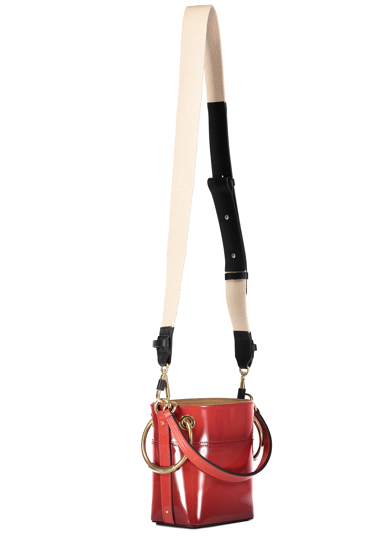 Roy Glossy Bucket Bag