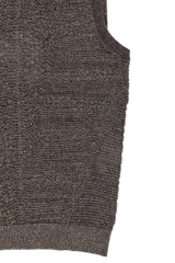 Side view image of Chloé Sleeveless Knit Turtleneck Black