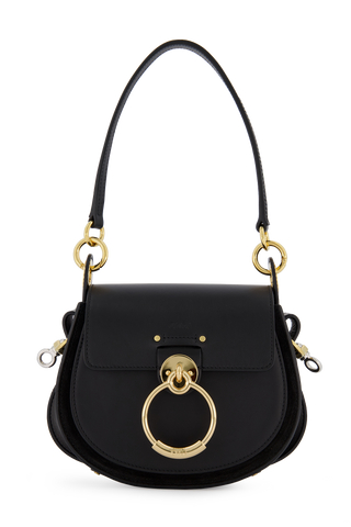 Tess Small Shoulder Bag Black