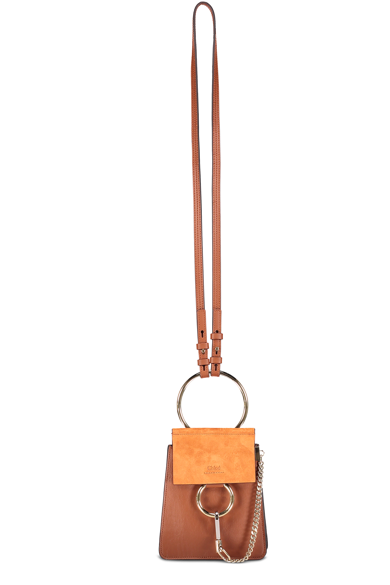 Front Image with Strap Extended Faye Small Bracelet Bag