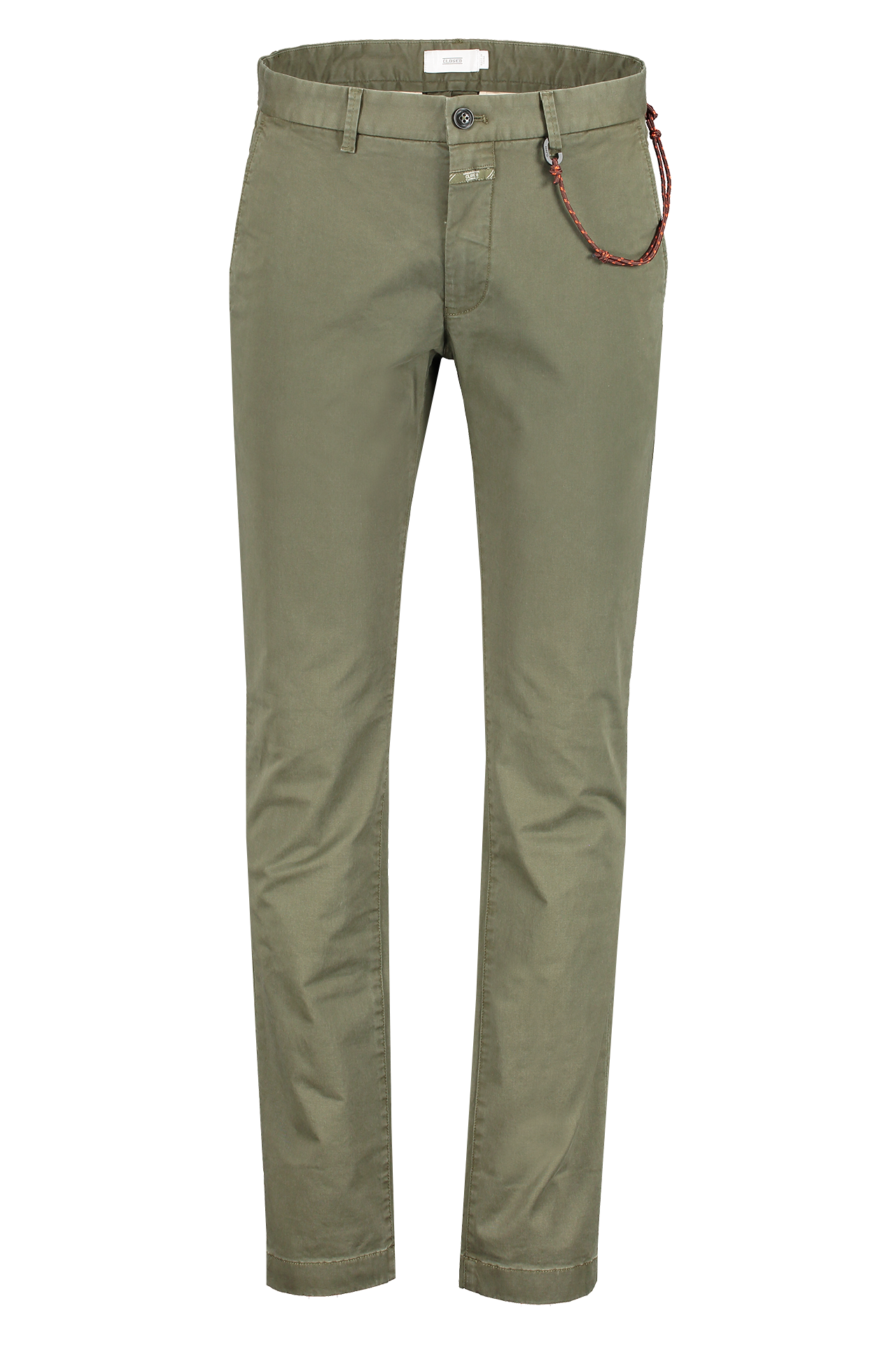 Front view image of CLOSED Clifton Slim Chino Deep Woods