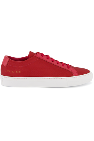 Women's Achilles Metal Mesh Sneaker Red