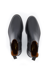 Top view image of Common Projects Men's Chelsea Boot Leather Black