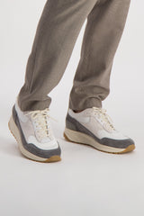 Men's New Track Sneaker Contrast Grey