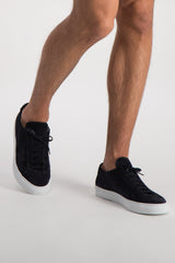 Men's Original Achilles Low Suede Sneaker In Black