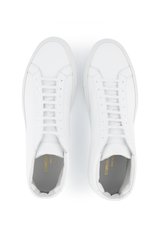 Top view image of Common Projects Original Achilles Mid Sneaker Leather White