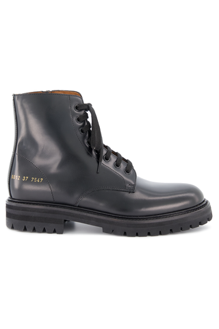 Side view image of Standard Combat Lug Sole Boot