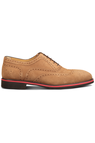 Lace Up Oxford Sport Suede
