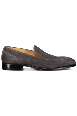 VELOUR LOAFER ASPHALT