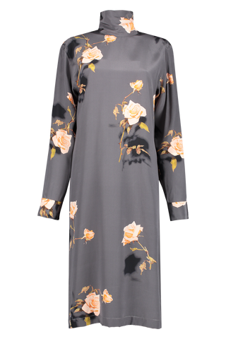 Front view image of Dries Van Noten Long Sleeve Dontisy Dress